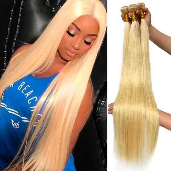 Brazilian Remy Straight Human Hair Bundles